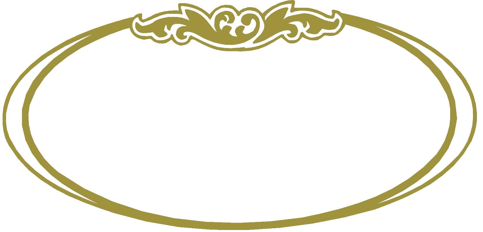 oval border copy