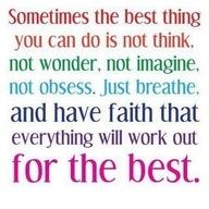 faith all for the best