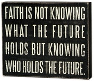 faith holds future
