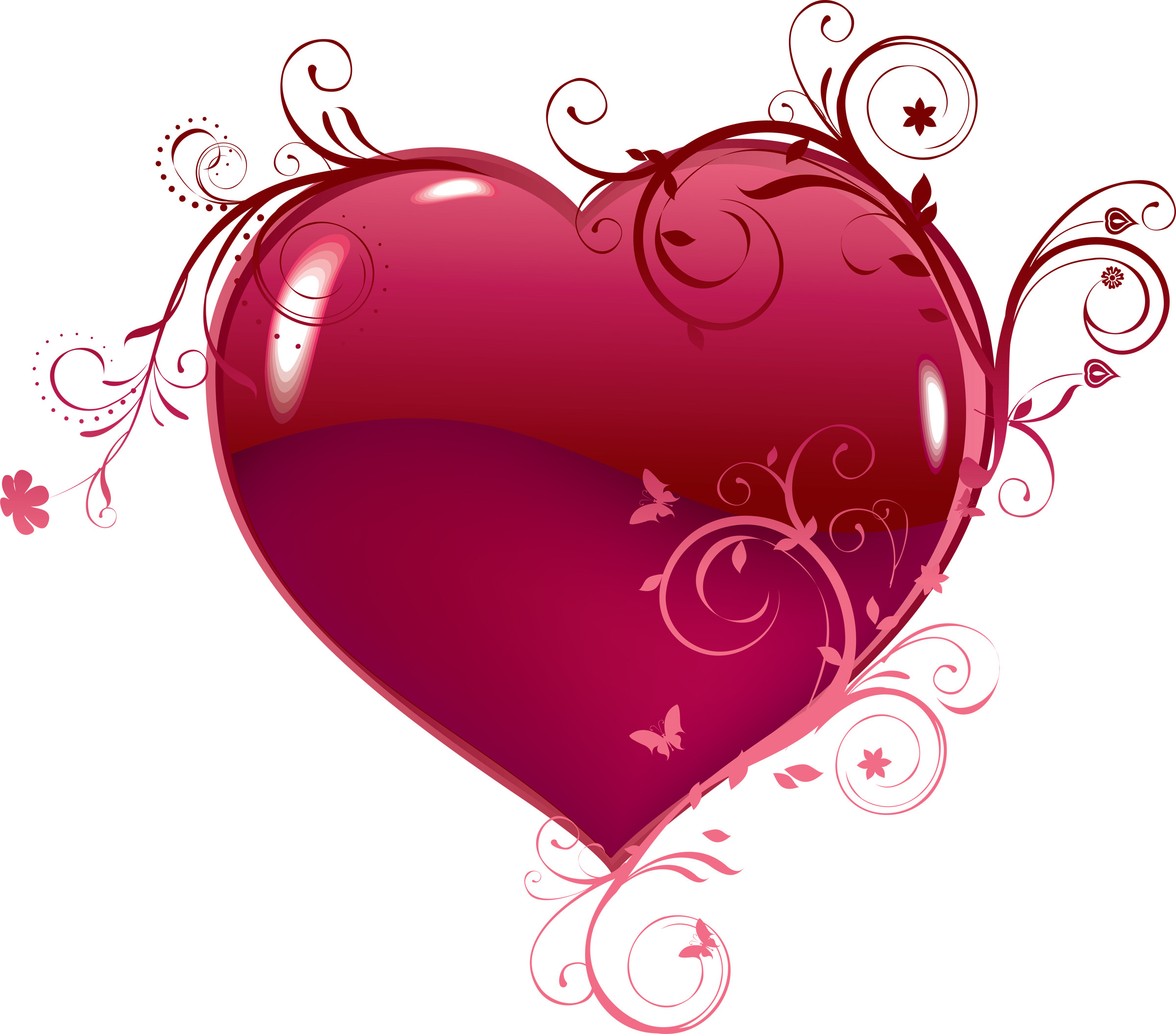 Fancy Heart Clipart Va...
