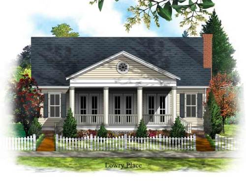 house plan outside
