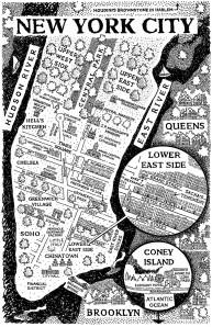 1900 New York City map