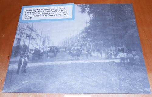 Pendleton paving street