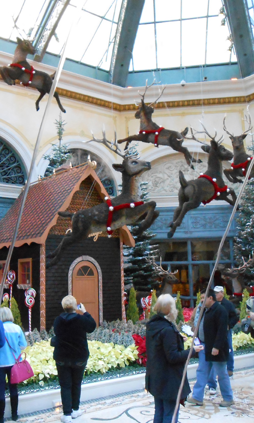 bellagio reindeer