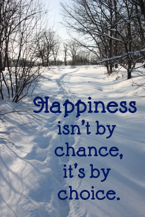 happiness by choice