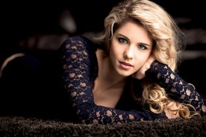 emily bett rickards glam shot