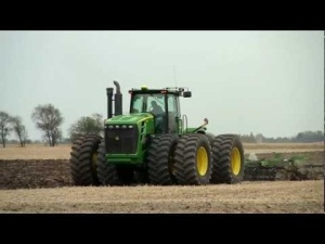 tractor with ripper