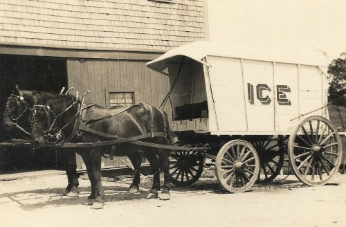 Ice Wagon, Pratt Farm