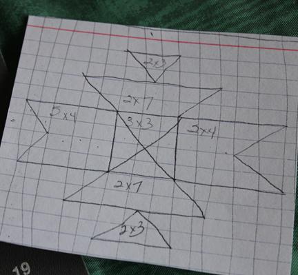 quilt block diagram