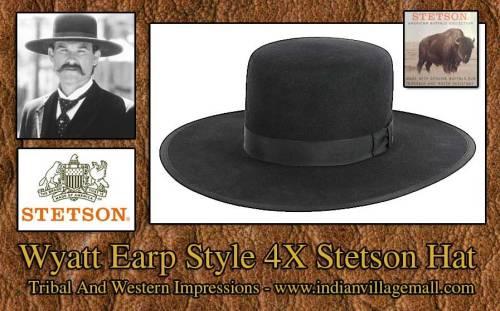 Wyatt Earp Stetson