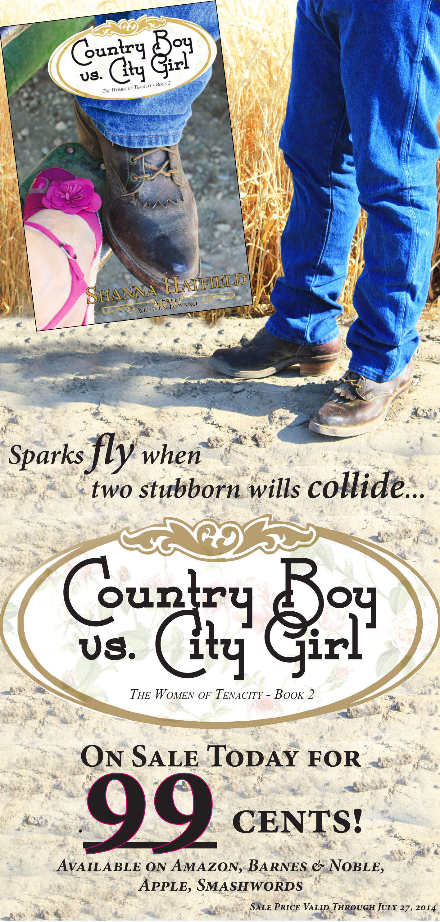 Country boy dating city girl