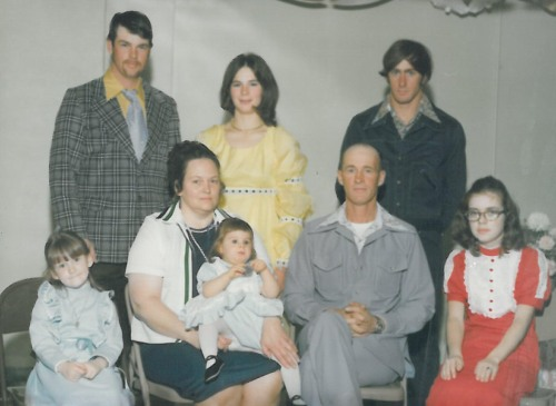 1970s whole family