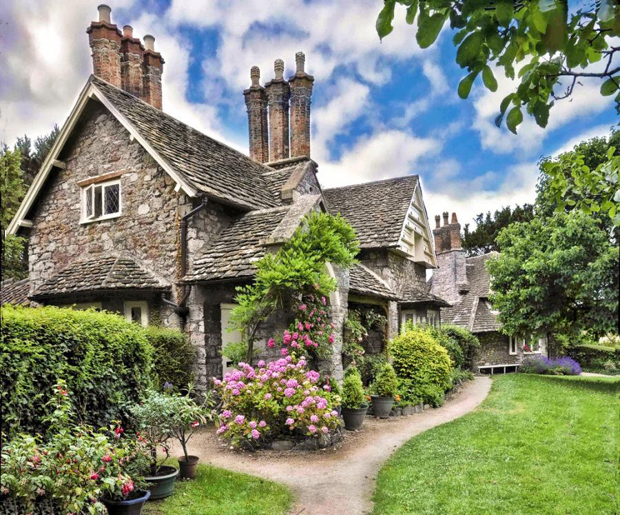 Crumpets and cowpies visuals shanna hatfield for English stone cottage plans