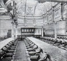 Teutonic dining saloon