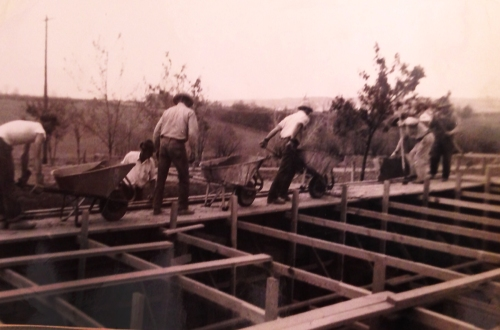 wheelbarrow workers
