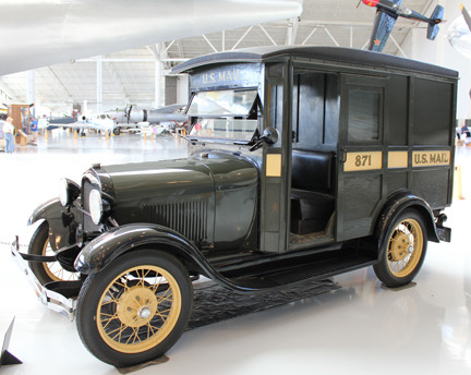 1929 mail truck