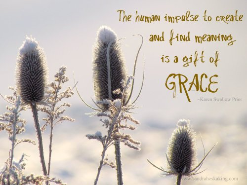 create is gift of grace