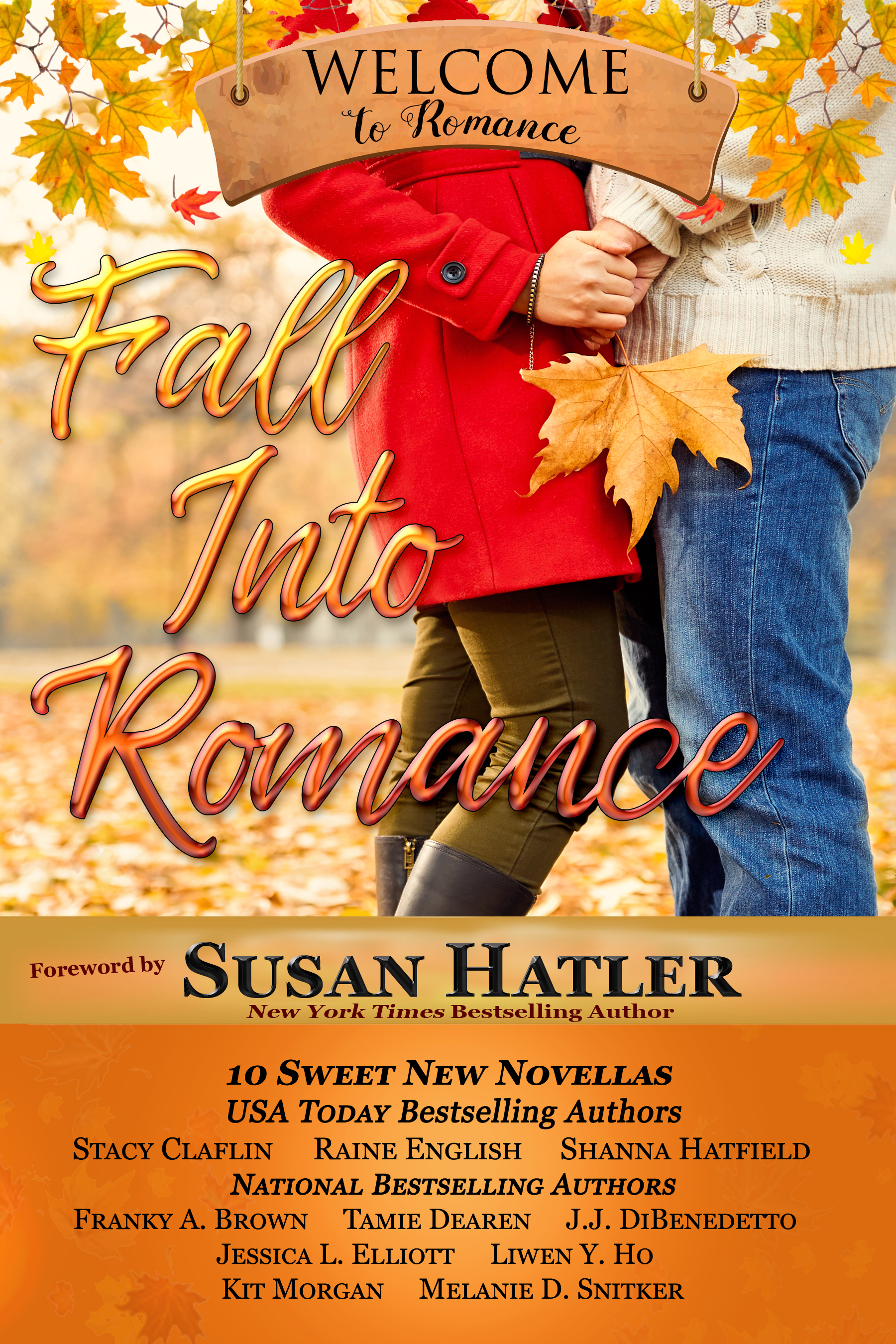 Fall Into Romance 2d Cover